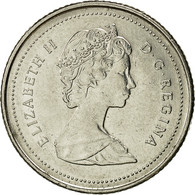 Canada, Elizabeth II, 10 Cents, 1989, Royal Canadian Mint, Ottawa, TTB+, Nickel - Canada