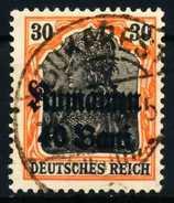 BES 1WK D-MV RUMÄNIEN Nr 12 Zentrisch Gestempelt X68F262 - Besetzungen 1914-18