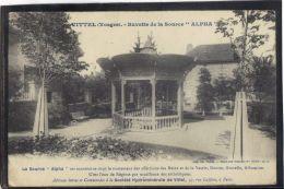 8879 . VITTEL . BUVETTE DE LA SOURCE ALPHA . (recto/verso)   ANNEE  1909 - Vittel Contrexeville