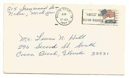 USA LETTRE DE SOUTH BEND 1967 - Poststempel