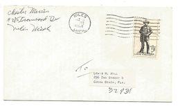 USA LETTRE DE NILES 1964 - Poststempel