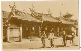 Singapore Chinese Temple Teyuk Ayer - Singapour