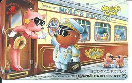 BD Train MOLE'S EXPRESSl Télécarte Phonecard  (D.271) - Treni