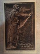 """62 - CPA ARRAS - """"LE GUETTEUR"""" Bas Relief- Fragment Du Monument Aux Morts - Arras"""