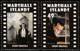 Marshall Islands 2014, Movie Monsters (Count Dracula) (MNH, **) - Cinema