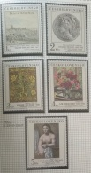 P7 Paintings - Czechoslovakia 1981 Yv. 2464-2468 MNH Cplete Set 5v. - Paintings From The National Galleri In Prague - Unused Stamps