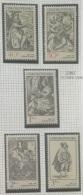 P7 Paintings - Czechoslovakia 1982 Yv. 2482-2486 MNH Cplete Set 5v. - Engravings With A Music Theme - Czechoslovakia