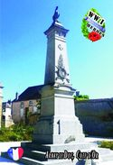 Carte Postale, Militaria, Monuments, World War I Monuments, France (Côte-d'Or), Arnay-le-Duc 1 - Monuments Aux Morts