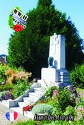 Carte Postale, Militaria, Monuments, World War II Monuments, France (Côte-d'Or), Arnay-le-Duc 2 - Monuments Aux Morts