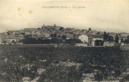 30)    GALLARGUES    - Vue Générale - Gallargues-le-Montueux