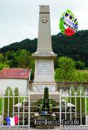 Carte Postale, Militaria, Monuments, World War I Monuments, France (Côte-d'Or), Auxey-Duresses - Monuments Aux Morts
