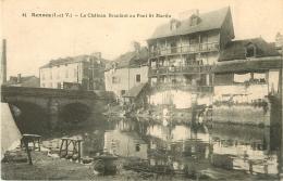 35 RENNES. Le Château Branlant Au Pont Saint-Martin - Rennes