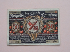 NAUMBURG - 50 Pfennige NOTGELD - 1920 - 29799 ( Details Zie Foto ) ! - [11] Local Banknote Issues