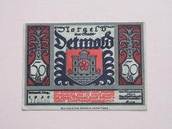 DETMOLD - 50 Pfennige NOTGELD - 1920 - 715590 ( Details Zie Foto ) ! - [11] Lokale Uitgaven