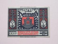 DETMOLD - 50 Pfennige NOTGELD - 1920 - 803695 ( Details Zie Foto ) ! - [11] Lokale Uitgaven