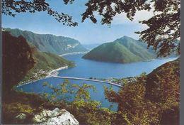 Lugano -  Brücke Bei Melide  -   **AK-93087** - TI Tessin