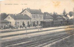 ESTERNAY LA GARE - Gares - Sans Trains