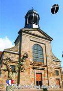 Carte Postale, Eglises, Churches Of France (Côte-d'Or), Arnay-le-Duc, Église Saint Laurent 2 - Kerken En Kathedralen
