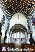 Carte Postale, Eglises, Churches Of France (Côte-d'Or), Arnay-le-Duc, Église Saint Laurent 3 - Kerken En Kathedralen