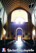Carte Postale, Eglises, Churches Of France (Côte-d'Or), Arnay-le-Duc, Église Saint Laurent 6 - Eglises Et Cathédrales