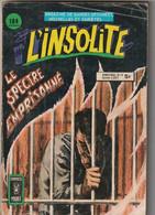 L'INSOLITE N° 19 Comics Pocket 1981 Poids 110 Gr - Insolite, L'