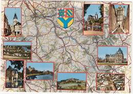 L'Yonne (d'après Carte Michelin No 989) - Tonerre,St-Florentin,Bieneau,Auxerre,Joigny-sur-Yonne Etc.  - (France) - Altri