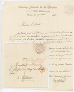 Paris 1814 Direction Générale De La Librairie Sénéchal 3156 - Marcofilia (sobres)