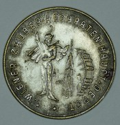 "Autriche Austria Österreich 1867 "" Wiener Zauber - Apparaten - Haupt - Depot ""  Medal - Médailles & Décorations"