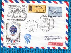 Austria - Registered Letter - Sonderballonpost IFA 06.06.1968 / Tag Der Astrophilatelie - Ballons