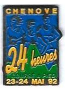 A6 - COURSE - CHENOVE - 24 HEURES COURSE A PIED - Verso : SVAN EPINAL - Atletismo