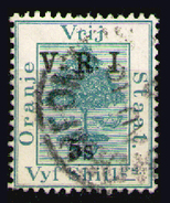 ORANGE 1900 - From Set Used - Stato Libero Dell'Orange (1868-1909)