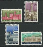 FRANCE 1958 . Série N°s 1152 à 1155 . Neufs ** (MNH) - France