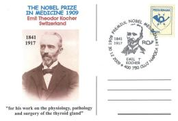 5238  Prix Nobel De Médecine 1909: Emil Theodor Kocher -  Medicine Physiology Pathology Glande Thyroïde - Medicine