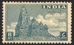 INDIA STAMPS, 15 AUG 1949, MAHADEV TEMPLE, MNH - 1947-49 Dominion