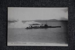 """Marine De Guerre - Sous Marin """" CUGNOT"""". - Unterseeboote"""