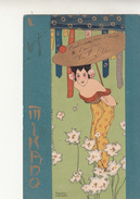 Raphael Kirchner, Cartolina Illustrata. Botticino Per Lucca 1902 - Kirchner, Raphael