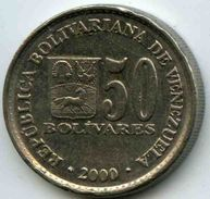 Venezuela 50 Bolivares 2000 KM 82 - Venezuela