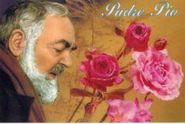 Santino Cartolina PADRE PIO - N90 - Religione & Esoterismo