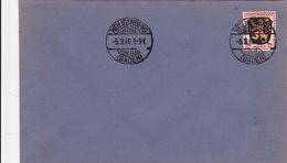 2091# 12 Francs PALATINAT SEUL LETTRE Obl HEILIGENBERG BADEN 1946 ZONE FRANCAISE ALLEMAGNE - Zone Française