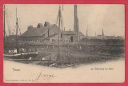 Boom - La Fabrique De Zinc - 1909  ( Verso Zien  ) - Boom