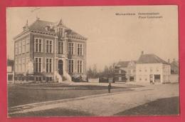 Wolvertem - Gemeenteplaats - 1925 ( Verso Zien  ) - Meise