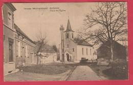 Impde (Wolvertem )  - Kerkplein - 1925 ( Verso Zien  ) - Meise