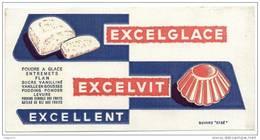 BUVARD  -  POUDRE A GLACE ENTREMETS FLAN   -  EXCELGLACE EXCELVIT - Food