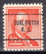 USA Precancel Vorausentwertung Preo, Locals North Carolina, Burlington 704 - Vereinigte Staaten