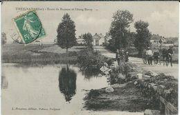 Allier, Trignat, Route De Boussac Et L'Etang Barny, Animée - Andere Gemeenten