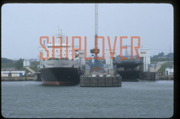 Diapositive Authentique Ferry KLAIPEDA (réf. D5190) - Ship 35 Mm Photo Slide - Bateau/ship/schiff - Boats