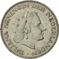 Pays-Bas, Juliana, Gulden, 1967, TB+, Nickel, KM:184a - [ 3] 1815-… : Kingdom Of The Netherlands