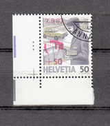 1987  EMISSIONS AVEC SURTAXE  N° 66  OBLITERE      CATALOGUE  ZUMSTEIN - Suisse