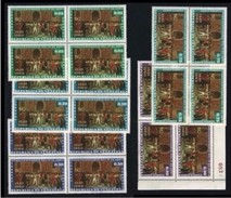 VENEZUELA 1961 - Indipendenza Con Posta Aerea - N. 619 /21 + 714 /15  ** - Quartine - Cat. 40 € - Lotto N. 1731 - Venezuela