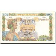 France, 500 Francs, 500 F 1940-1944 ''La Paix'', 1941, 1941-08-28, KM:95b, TTB+ - 1871-1952 Gedurende De XXste In Omloop